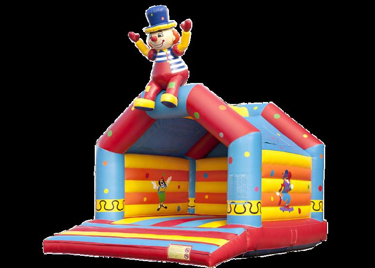 Hüpfburg Klatschender Clown