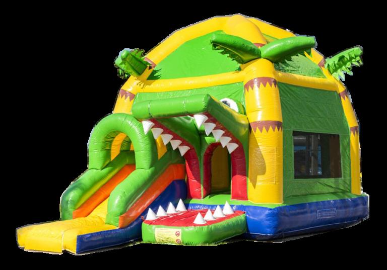 Super-Krokodil-Hüpfburg